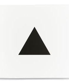 ``The triangle`` Bruno Munari - design